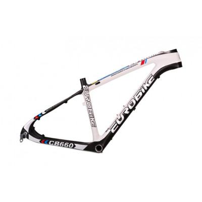 Карбоновая рама для горного велосипеда №6 (колёса 26 или 27.5 дюймов)
