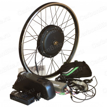 Мотор-колесо 500Вт для велосипеда с аккумулятором на раму (переднее)