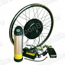 Мотор-колесо 500W 36В для велосипеда переднее - готовый комплект с АКБ