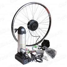 Мотор-колесо 350Вт с аккумулятором 36В 10Ач бутылка
