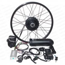 Комплект мотор колесо 500Вт Бафанг для велосипеда с аккумулятором