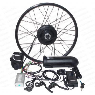Мотор-колесо 500Вт редукторное с аккумулятором 36В 10Ач готовый комплект