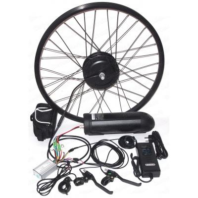 Готовый комплект мотор колесо 350Вт Бафанг с аккумулятором для велосипеда