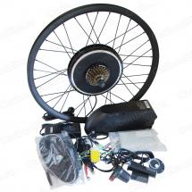 Мотор-колесо велосипедное 1000Вт заднее с аккумулятором на раму - готовый комплект