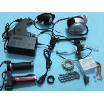 Электрический мотор для велосипеда 250Вт 24В - Комплект