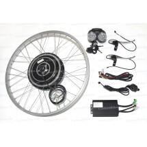 Мотор-колесо заднее велосипедное 500Вт - Комплект