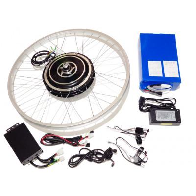 Мотор-колесо 5000 Ватт с аккумулятором готовый комплект