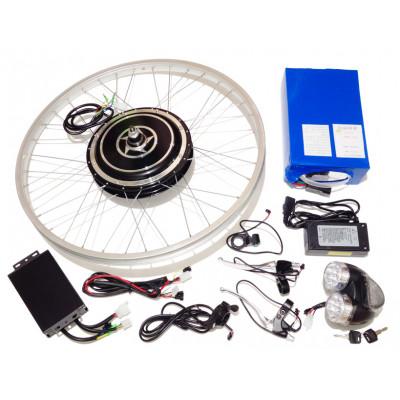 Мотор-колесо 500Вт 48В с аккумулятором готовый комплект